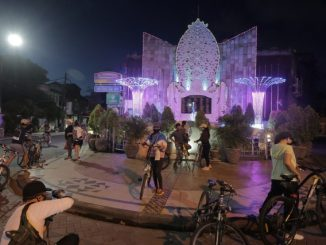 Bali's Bombing Monumen at the middle of pandemic that still crowded by tourist - IST